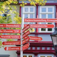 Das erste Mal in Halberstadt