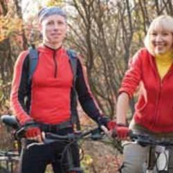 Radfahren im Huy