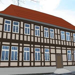 Denkmalgeschütztes Gutshaus mit angrenzendem Grundstück Grudenberg 7