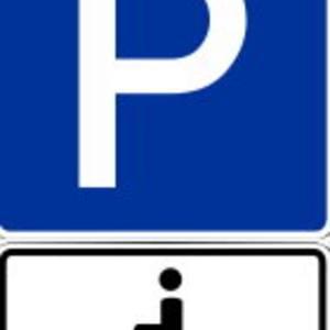 Behindertenparkplätze in Halberstadt