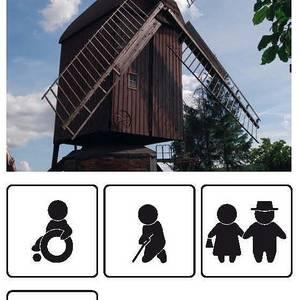 Bockwindmühle und Backhaus in Anderbeck