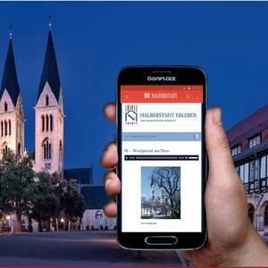 Halberstadt erleben ein audiovisueller Spaziergang