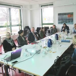 Zweites Stakeholdertreffen im Ministerium für Landesentwicklung und Verkehr in Magdeburg.