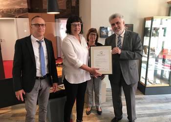 Service Qualität Sachsen-Anhalt in der Tourist Information [(c): Pressestelle Stadt Halberstadt]