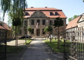 Außenaufnahme Städtisches Museum Halberstadt am Domplatz 36, um 2005 [(c) Städtisches Museum Halberstadt]