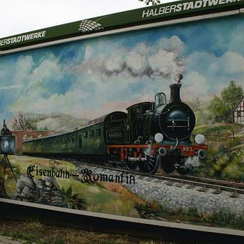 Impressionen des Bahnhofs Halberstadt