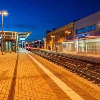 Halberstadt, Bahnhof - Karsten Hebbel