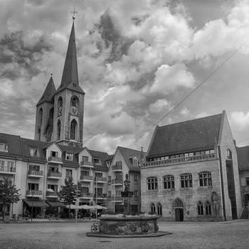 Halberstadt, Holzmarkt - Karsten Hebbel