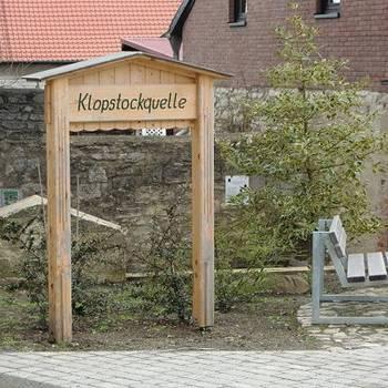 Klopstockquelle in  Aspenstedt, Ortsteil von Halberstadt