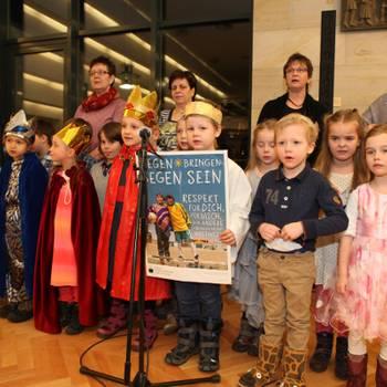 Hilariusmahl 2016 in Halberstadt - Die Sternensinger sammeln für einen guten Zweck