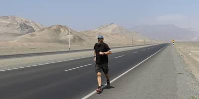 Laufen in der Artacama Wüste. [(c) Privat]