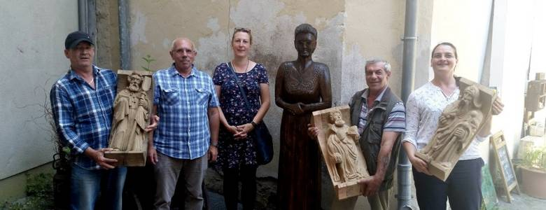 Fräulein Schraube begrüßt ihre Gäste nun persönlich [(c) Städtisches Museum Halberstadt]