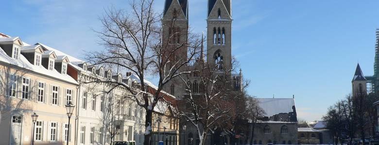 Halberstädter Dom im Winter [(c) Stadt Halberstadt, Neue Medien]