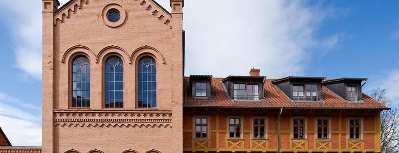 Die Klaussynagoge ist Ausgangspunkt für den Streifzug durch die jüdische Geschichte Halberstadts [(c) Ulrich Schrader]