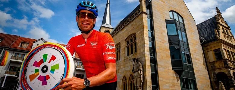 Halberstadt - Erstes Etappenziel der Deutschland Tour [(c) Henning Angerer]