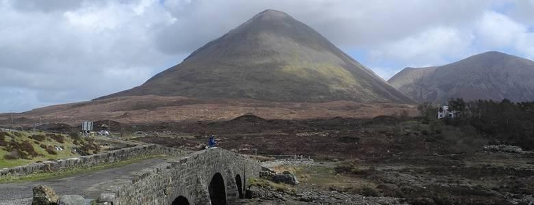 Steinbrücke auf der Isle of Skye, Sliachan [(c) Carsten Brauckmann]
