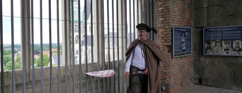 Der Türmer der Martinikirche erwartet die Gäste in luftigen Höhen [(c) Städtisches Museum Halberstadt]