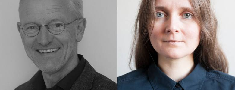 Heinrich Detering, privat - Marion Poschmann, Foto von Frank Mädler, 2012