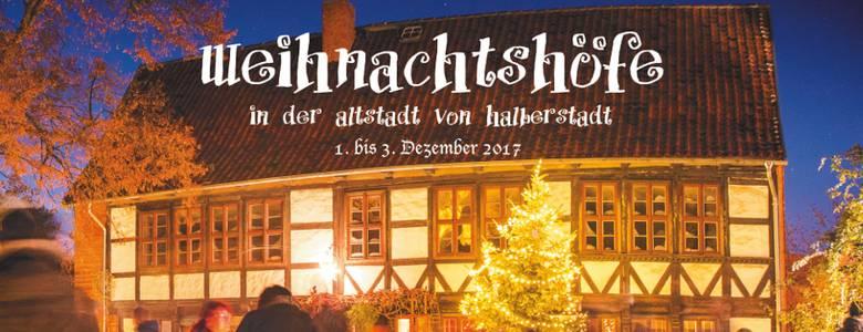 Weihnachtshöfe 2017 in der Altstadt von Halberstadt [(c) IdeenGut]