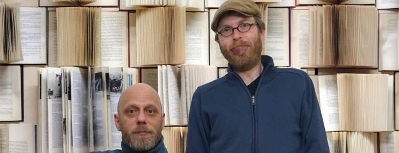 Peter Berg (links) und Christian Kreis [(c) Schachdorf Ströbeck]