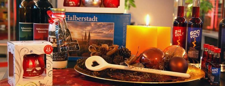 Weihnachtssouvenirs 2020 [(c) Tourist Information Halberstadt]