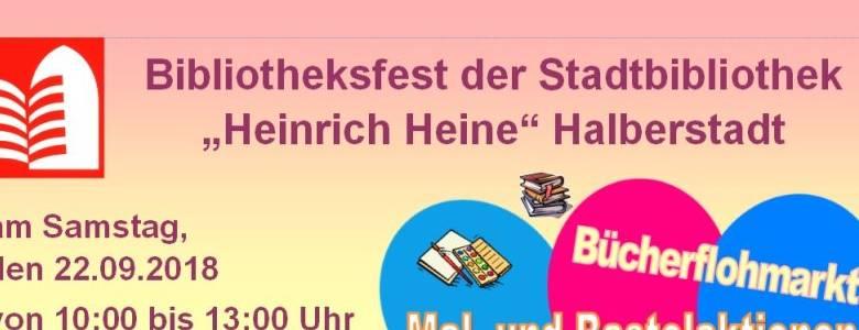 Bibliotheksfest in Halberstadt [(c) Stadt Halberstadt, Stadtbiliothek]