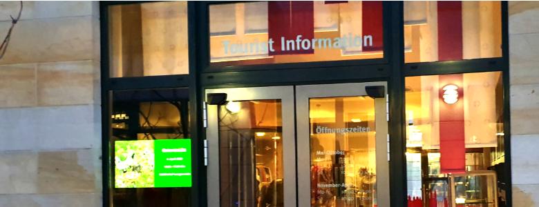 TI geschlossen [(c) Tourist Information Halberstadt]