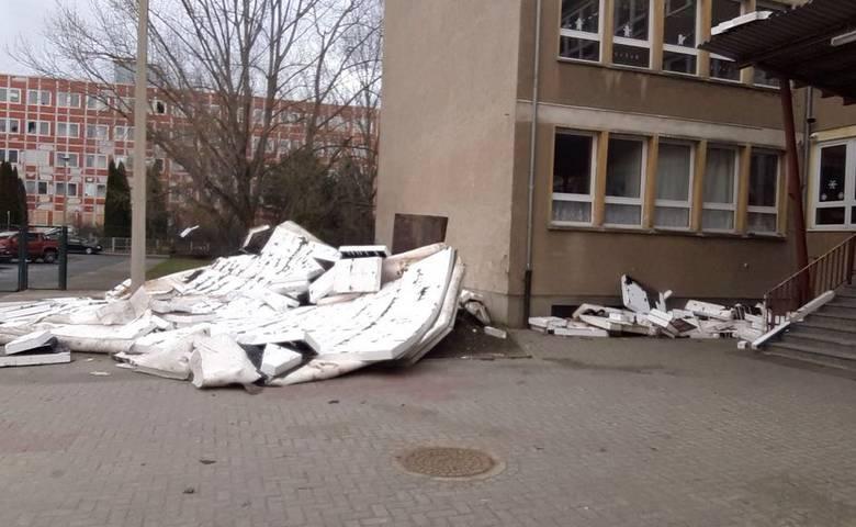 Spiegelschule nach dem Sturm [(c) Privat]