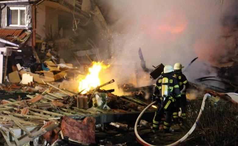 Einsatz Feuerwehr in der Gartenstadt [(c) Feuerwehr Stadt Halberstadt]