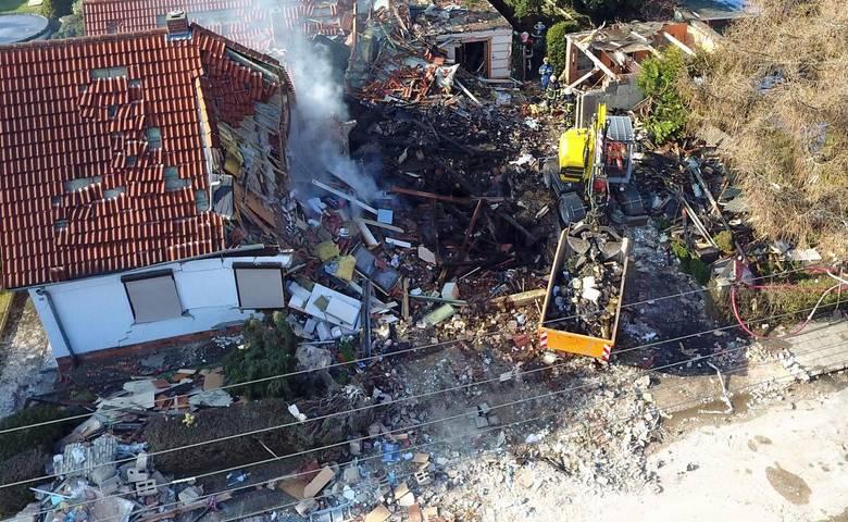 Vermutliche Gasexplosion in der Gartenstadt [(c) Thomas Tobis, MDR]