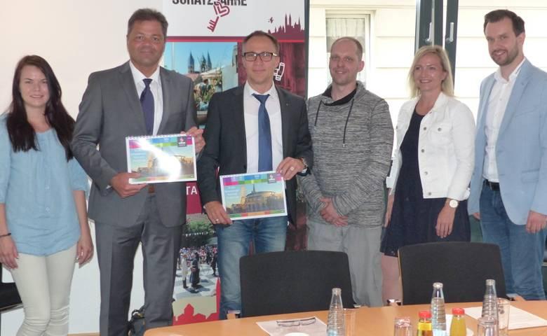 Jubiläumsprogramm zum 20. Geburtstag der Rathauspassagen vorgestellt [(c) Stadt Halberstadt, Pressestelle]