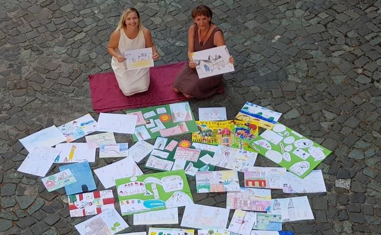 Malwettbewerb der Schatzjahre freut sich über eine großartige Beteiligung! [(c) Stadt Halberstadt/ Neue Medien/ Stadtmarketing]