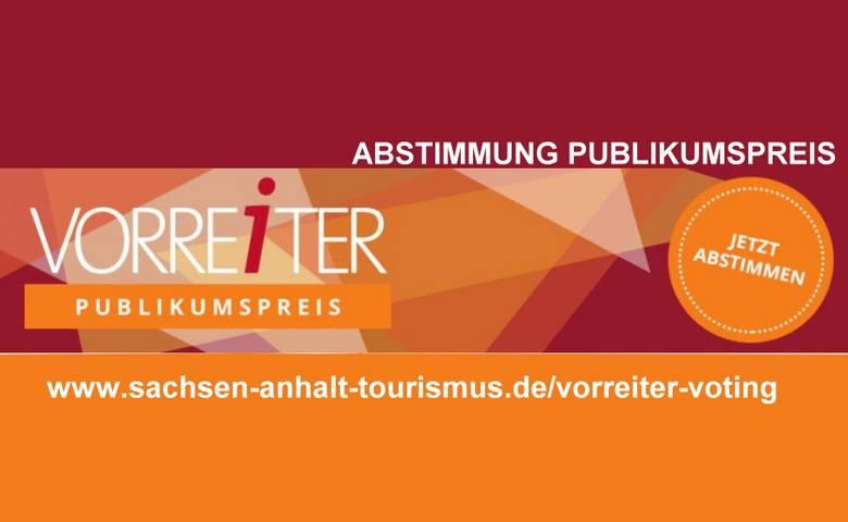 Publikumspreis VORREiTER [(c) Investitions- und Marketinggesellschaft Sachsen-Anhalt mbH]