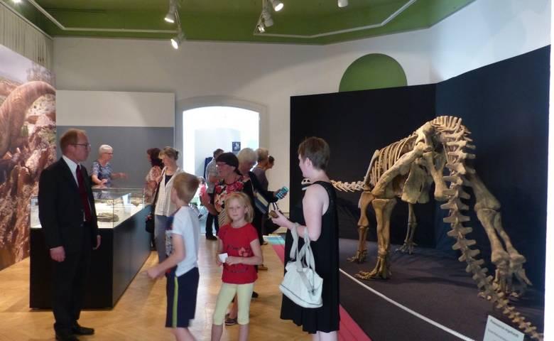 Dinoausstellung im Heineanum ist Besuchermagnet – Besucherzahl verdreifacht [(c) Stadtverwaltung Halberstadt/ Pressestelle]