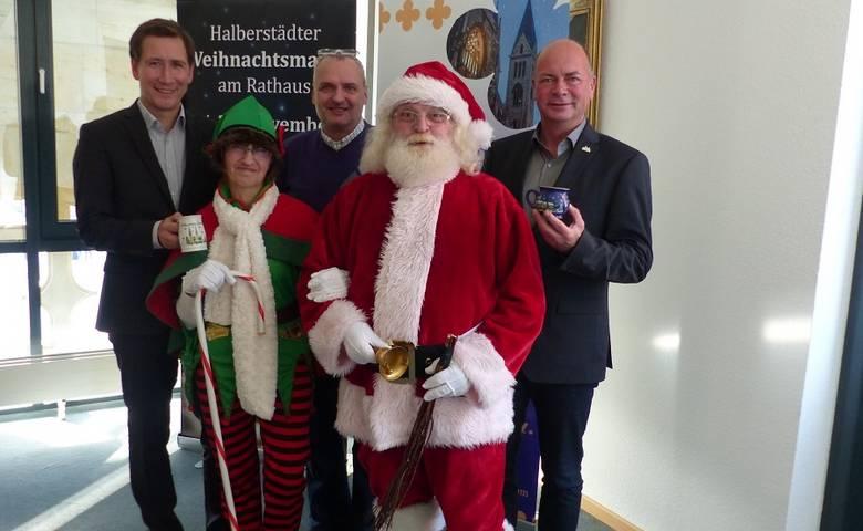 Weihnachtsmarkt, Domweihnacht, Weihnachtshöfe, Eisbahn – Herzlich willkommen in Halberstadt! [(c) Stadt Halberstadt/Pressestelle]