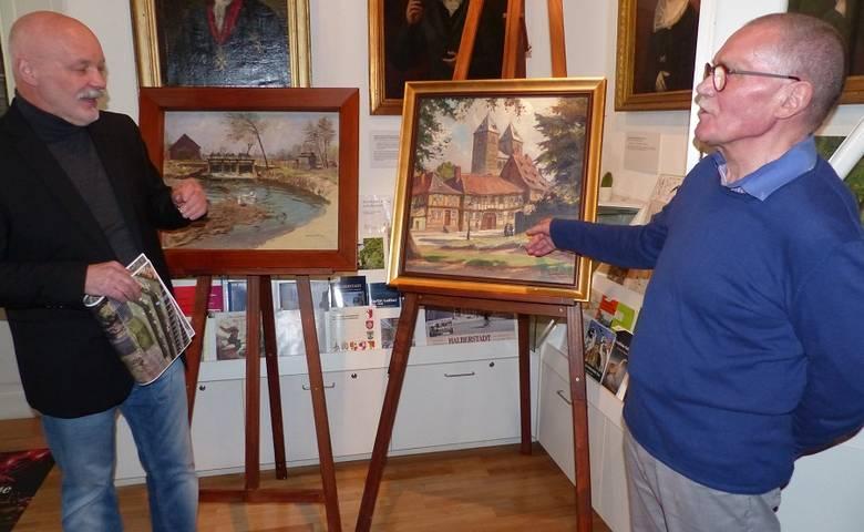 Schenkung und Ankauf zweier Gemm-Gemälde für das Museum [(c) Stadt Halberstadt/Pressestelle]