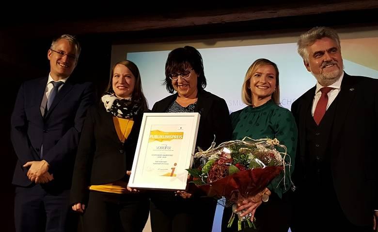 Schatzjahre gewinnen Publikumspreis des Vorreiter Sachsen-Anhalt [(c) Stadt Halberstadt/Pressestelle]