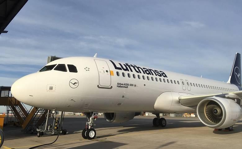 """Airbus A320 der Deutschen Lufthansa trägt den Namen """"Halberstadt"""" [(c) Deutsche Lufthansa AG]"""