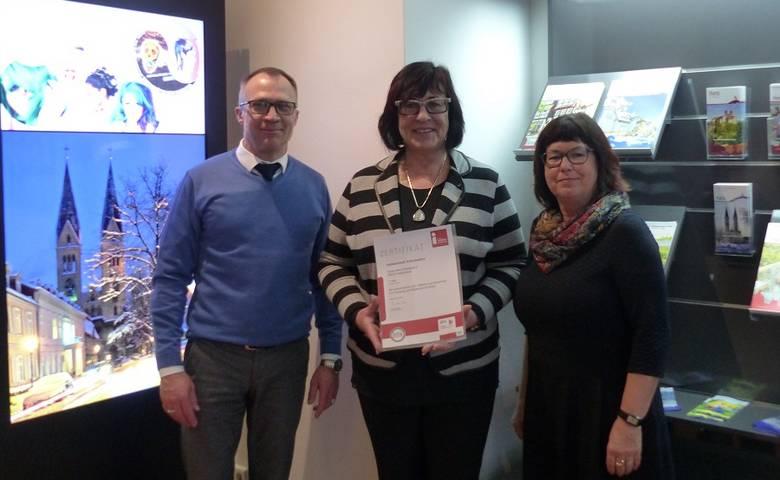 Halberstadt Information erneut mit Qualitätssiegel ausgezeichnet [(c) Stadt Halberstadt/Pressestelle]