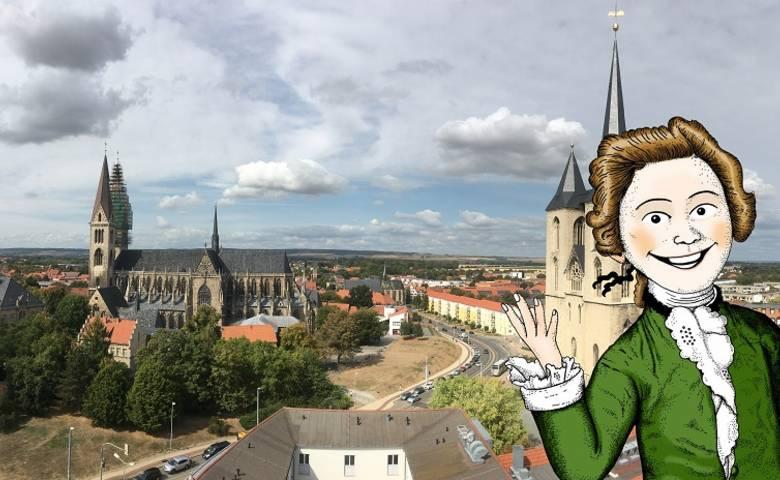 """""""Vater Gleim"""" wird 300 Jahre alt - Angebote der Halberstadt Information zum Jubiläum [(c) Ulrich Schrader]"""