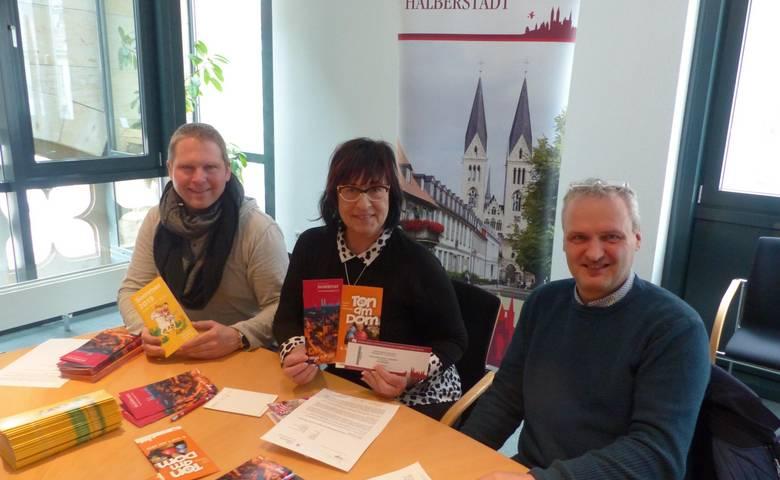 Ton am Dom 2019 – Programmflyer und Kartenverkauf für Theaterabend [(c) Stadt Halberstadt/Pressestelle]