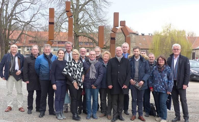 Kulturausschüsse Wolfsburg und Halberstadt starten Jubiläumsjahr zur 30jährigen Städtepartnerschaft [(c) Stadt Halberstadt/Pressestelle]