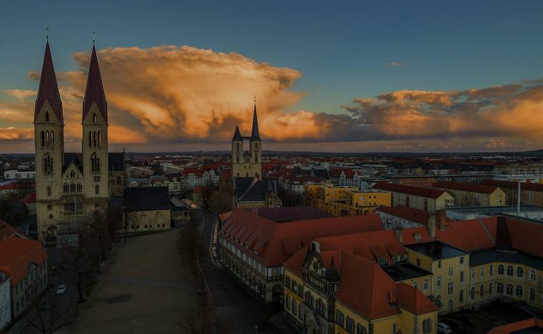 Blick über Halberstadt [(c) Marcel Lieben]