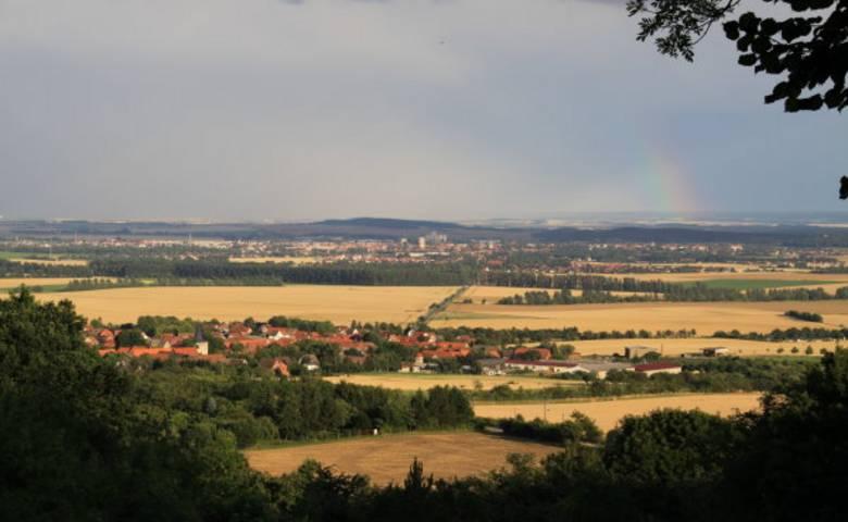 Langenstein - Böhnshausen - Mahndorf - Ströbeck - Sargstedt - Sargstedter Warte – Huysburg