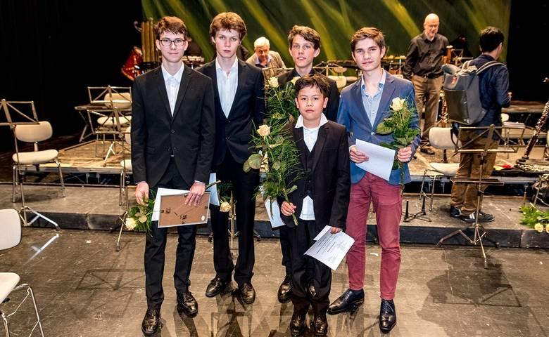 Auszeichnungen für drei Nachwuchskomponisten bei Jubiläums- Werkstatt [(c) Ray Behringer]