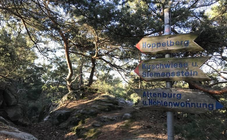 Rund um den Hoppelberg