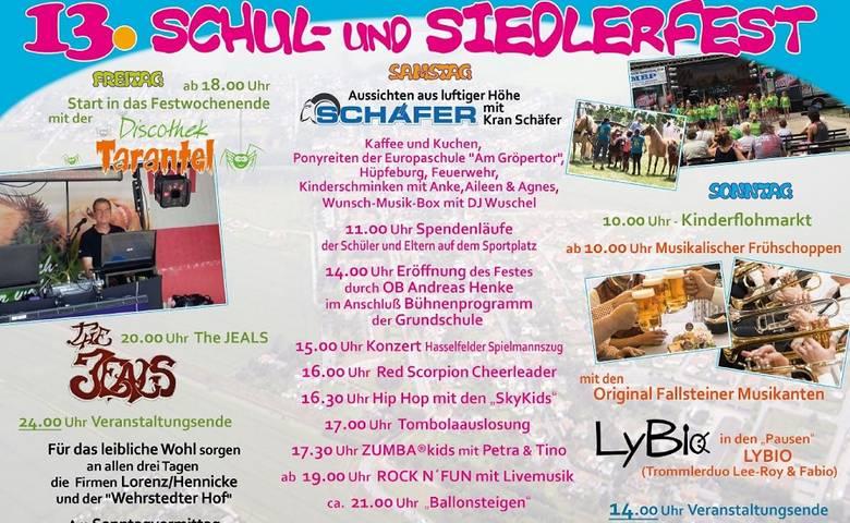 Siedlerfest vom 28. bis 30. Juni [(c) Siedlerverein]