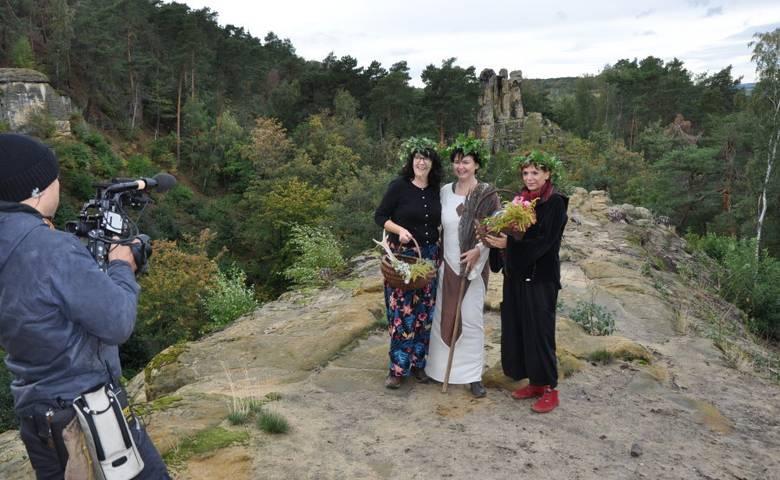 Filmaufnahmen - Zum Versunkenen Heiligtum [(c) Dr. Maria Lang]