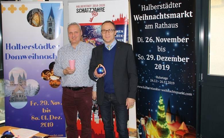 Halberstädter Weihnachtsmarkt und Domweihnacht kündigen sich an [(c) Stadt Halberstadt/Pressestelle]