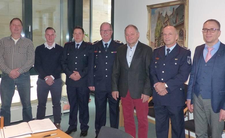 Ernennung, Beförderung und Verabschiedung [(c) Stadt Halberstadt/Pressestelle]